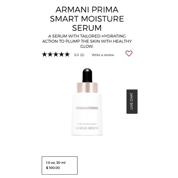 fc01814f0 Giorgio Armani Makeup | Armani Prima Smart Moisture Serum | Poshmark